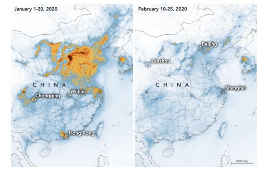 China Before After